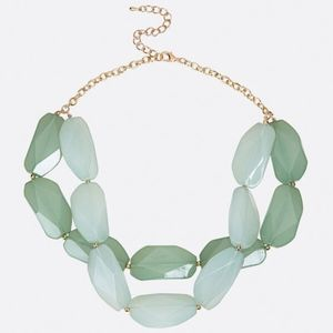 New Double Strand Jade Necklace